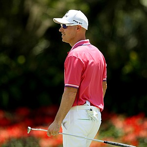 Ben Crane made 5 birdies on the front 9 in the final round of the 2013 Players Championship at TPC Sawgrass.