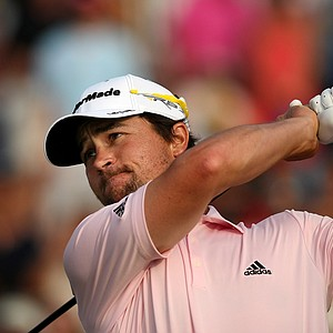 Casey Wittenberg in the final round of the 2013 Players Championship at TPC Sawgrass.