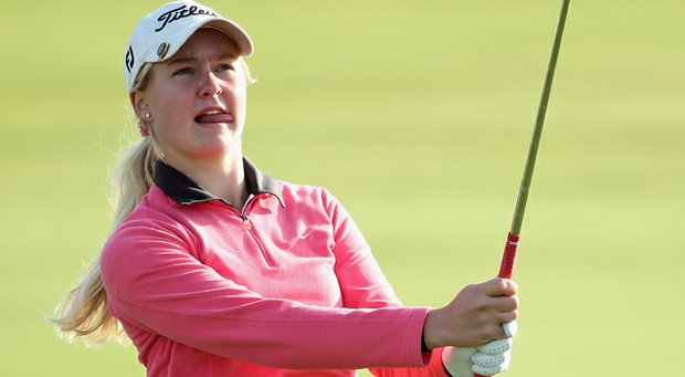 Charley Hull has three second-place finishes on the LET this season.