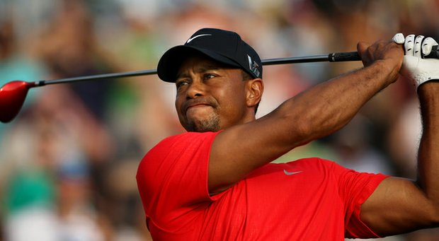 Tiger Woods pulled away from the field after being tied with three others through 14 holes, winning his second Players Championship title in the process.