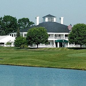 The clubhouse at The Lake Golf and CC in Westerville, Ohio