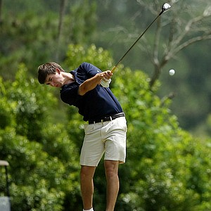 Georgia Tech's Ollie Schniederjans at the Division 1 Men's Regional at Golden Eagle Country Club in Tallahassee.