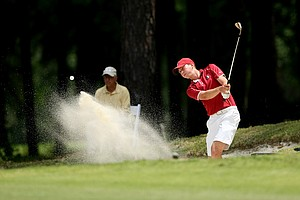 Florida State's Daniel Berger at the Division 1 Men's Regional at Golden Eagle Country Club in Tallahassee.