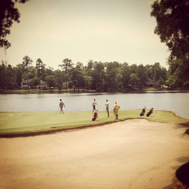 No. 9 at the Division 1 Men's Regional at Golden Eagle Country Club in Tallahassee.