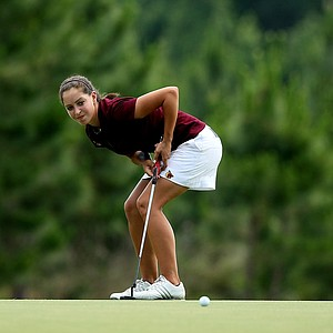 Kristen Sammarco of Armstrong Atlantic competed as an individual at the Division 2 Women's Final in Daytona Beach.