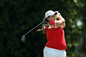 Nancy Vergara of Barry University was the individual champion at the Division 2 Women's Final in Daytona Beach.