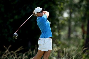 Linnea Johansson of Nova Southeastern at the Division 2 Women's Final in Daytona Beach.