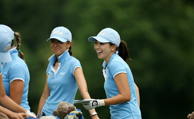 UCLA's Tiffany Lua during Monday's practice round at the Women's NCAA Championship.