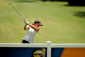 Tulane's Gemma Dryburgh in Round 1 of the 2013 Women's NCAA Championship.