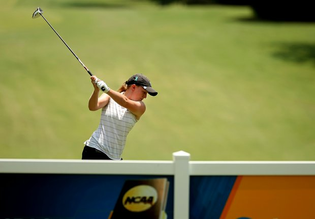 Tulane's Gemma Dryburgh in Round 1 of the 2013 Women's NCAA Championship.