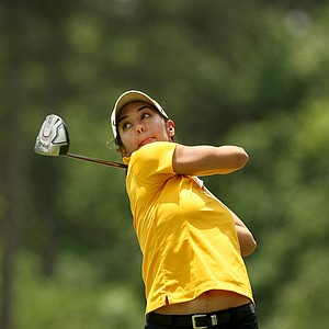 Paula Reto of Purdue in Round 1 of the 2013 Women's NCAA Championship.