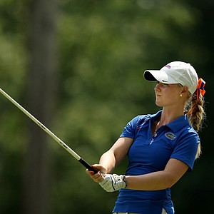 Florida's Anna Young in Round 1 of the 2013 Women's NCAA Championship.