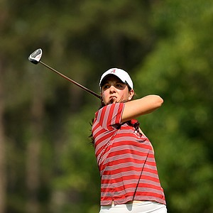 Alabama's Emma Talley in Round 1 of the 2013 Women's NCAA Championship.