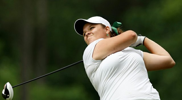 LIz Nagel of Michigan State during the 2013 NCAA Championships in Athens, Ga.