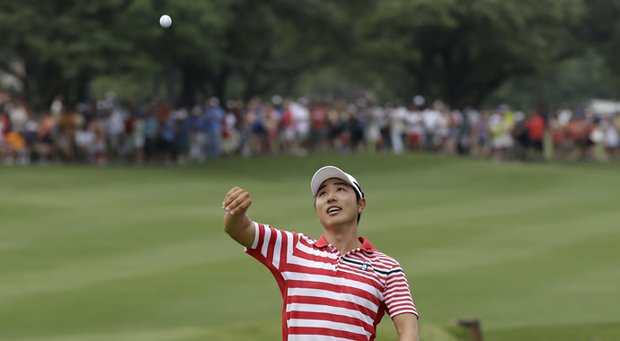 Sang-Moon Bae won the 2013 HP Byron Nelson Championship with Callaway's new Hex Chrome + ball.