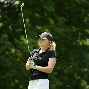 Alabama's Stephanie Meadow posted a 67 in Round 2 of the 2013 Women's NCAA Championship.