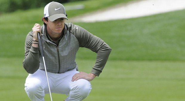 Rory McIlroy has refused to shed any light on his alleged change of management companies.