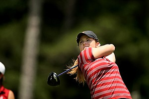USC's Rachel Morris in Round 3 of the 2013 Women's NCAA Championship.
