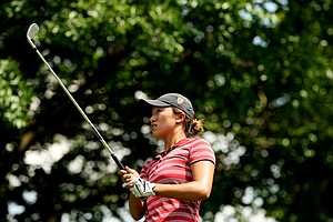 USC's Annie Park is the leader after Round 3 of the 2013 Women's NCAA Championship.
