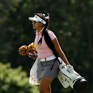 Arizona State's Laura Blanco in Round 3 of the 2013 Women's NCAA Championship.