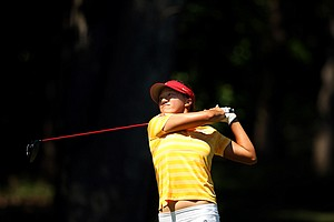USC's Annie Park in the final round of the 2013 Women's NCAA Championship.