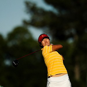 Annie Park of USC is only the seventh freshman to win the individual title.