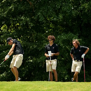 Texas Tech during Monday's practice at the 2013 NCAA Championship at Capital City Club Crabapple Course.