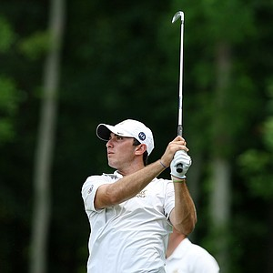 Cal's Max Homa on Monday during the practice round of the 2013 NCAA Championship.