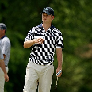 Florida's Tyler McCumber during Monday's practice at the 2013 NCAA Championship at Capital City Club Crabapple Course.