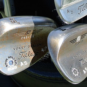 Adam Scott's Vokey wedges