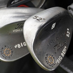 Ben Curtis' Vokey wedges