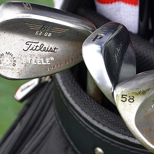 Brendan Steele's Vokey wedges