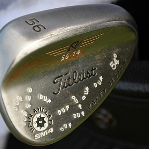 Jason Dufner's Vokey wedges