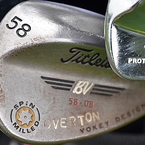 Jeff Overton's Vokey wedges