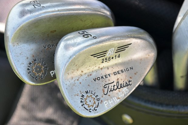 Scott Stallings' Vokey wedges