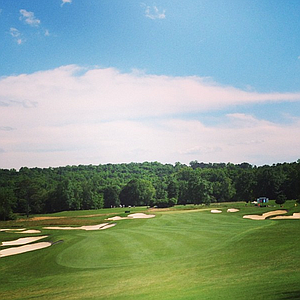 No. 17 at The Capital City Club's Crabapple course.