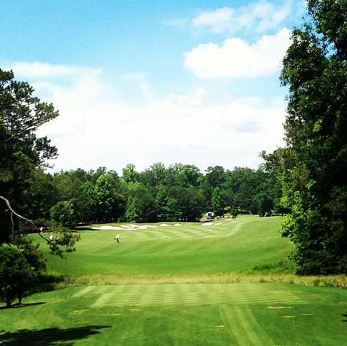The 600-yard par-5 5th at the Crabapple course.