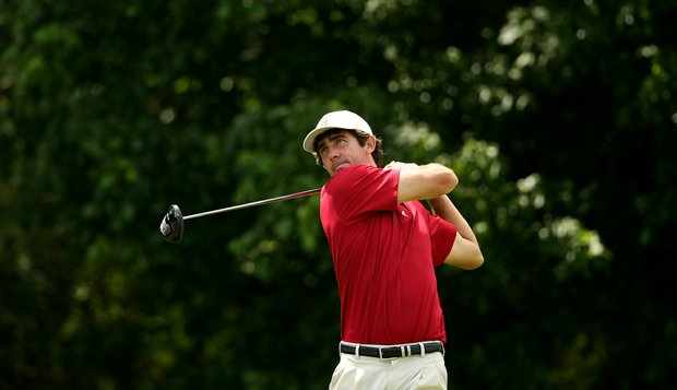 Alabama's Scott Strohmeyer during Round 2 of the 2013 NCAA Championship.