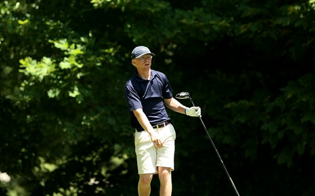 Georgia Tech's Anders Albertson during Round 2 of the 2013 NCAA Championship.