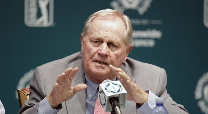Jack Nicklaus discusses the game of golf on the eve of the 2013 Memorial tournament at Dublin, Ohio.