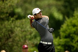 Arizona State's John Rahm during the final round of stroke play of the 2013 NCAA Championship.