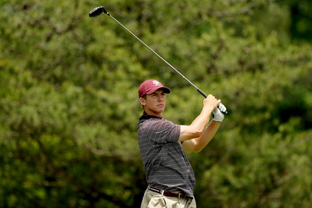 Texas A&M's Tyler Dunlap during the final round of stroke play of the 2013 NCAA Championship.