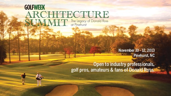 GW Architecture Summit: The Legacy of Donald Ross at Pinehurst