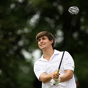 Georgia Tech's Ollie Schniederjans during the semifinals of match play at the 2013 NCAA Championship.