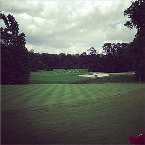 The par-3 13th hole at Capital City Club.