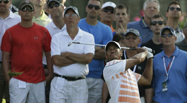 Tiger Woods during the second round of the Memorial in 2013 at Muirfield Village.