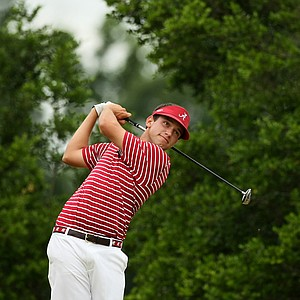 Alabama's Cory Whitsett at No. 7 at the 2013 NCAA Championship at Capital City Club Crabapple Course.