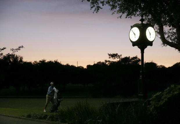 Players hit the course early for U.S. Open Sectional Qualifying.