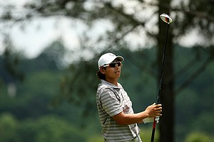 Gavin Green of Malaysia during U. S. Open Sectional Qualifying at Hawks Ridge Golf Club in Ball Ground, GA.