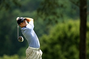 Conner Pratt of Birmingham, AL during U. S. Open Sectional Qualifying at Hawks Ridge Golf Club in Ball Ground, GA.